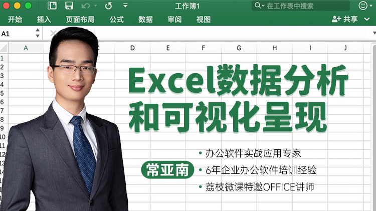 Excel数据分析和可视化呈现
